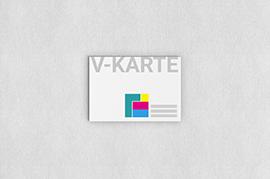 Visitenkarten Premium 1 Seitig